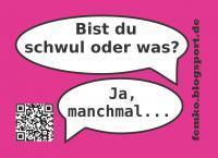 Sticker - Homophobie